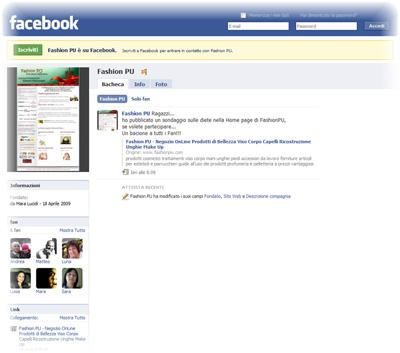 Fan club Fashion PU - Facebook