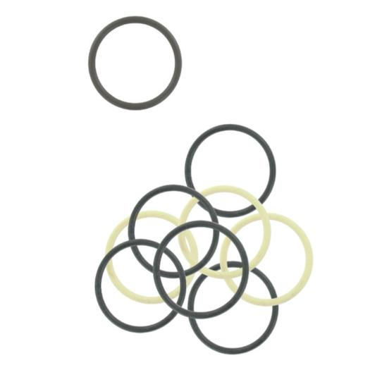 Labor elastici capelli coda in silicone antistrappo diam for Cartella colori dikson